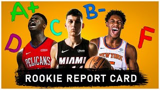 2020 NBA rookie REPORT CARDS [STUDS, BUSTS, ROLE PLAYERS]