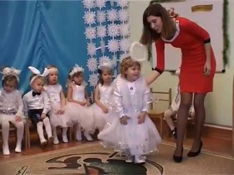 Новогодний утренник для ясельной группы детского сада сценарий