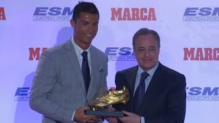 Cristiano Ronaldo says record fourth Golden Boot isn