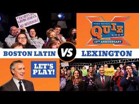 High School Quiz Show | Boston Latin VS  Lexington (1001)