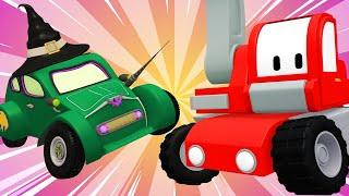 Kleinen Trucks   Hexenhäuschen - Lerne mit den kleinen Trucks 👶 🚚 Lehrreiche Cartoons für Kinder