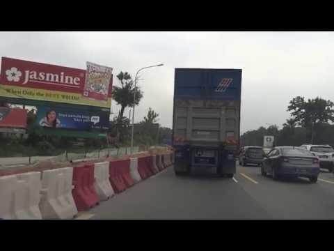 【マレーシア2014】03 車載動画 02 Plaza Tok Klia→AH2 Seremban