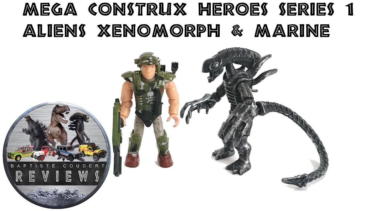XENOMORPH Mega Construx HEROES series 1 new