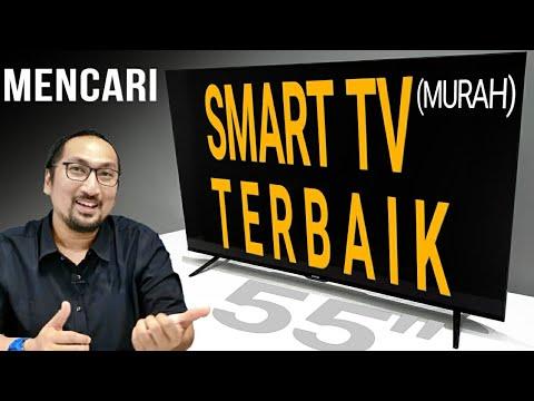 """5 Jutaan: Smart Tv Android 10 55"""" Murah Terbaik Di 2020! Review Coocaa S6g Pro"""