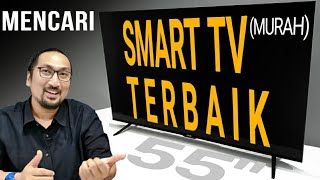 "5 Jutaan: Smart TV Android 10 55"" Murah Terbaik di 2020! Review Coocaa S6G Pro"