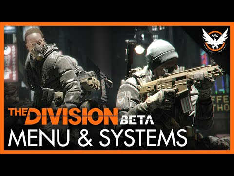 The Division Beta - Menu Guide (Intel, Map, and Abilities)