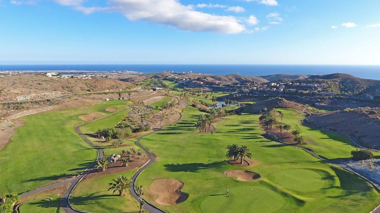 Salobre golf villas gran canaria youtube for Villas salobre golf
