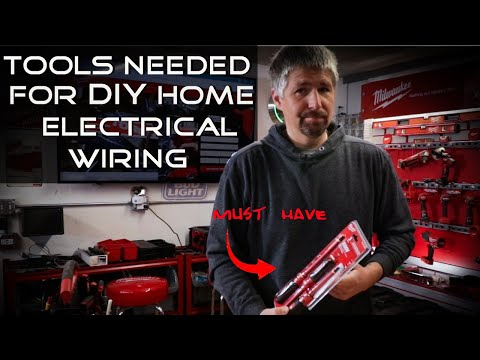 Tools Needed For Diy Home Electrical Wiring Youtube