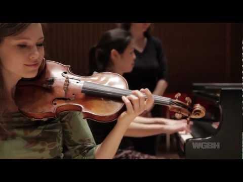 WGBH Music: Claremont Trio Plays Mendelssohn at the Gardner Museum