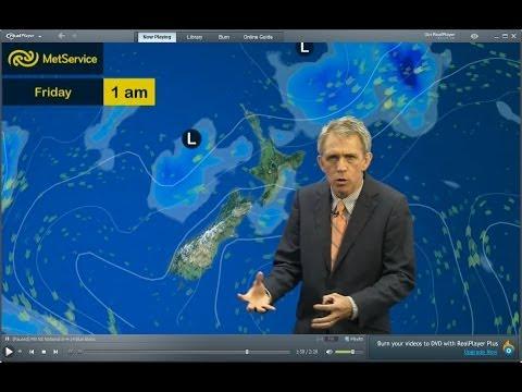 Dan Corbett - blue blobs blblbbleurgh! - Met Service New Zealand 8 April 2014