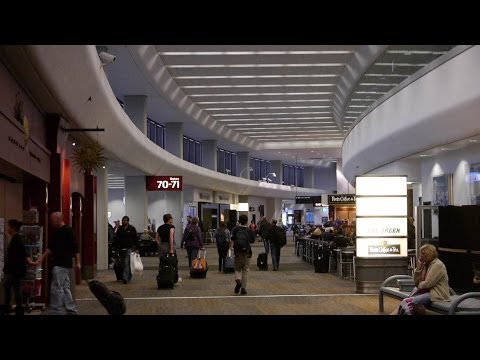 An HD Tour of San Francisco International Airport's Terminal 3, F Gates