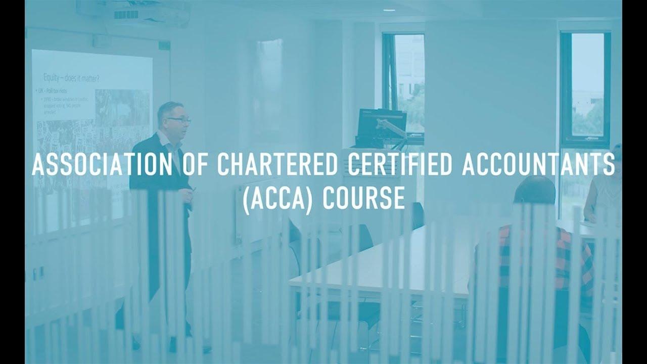 ACCA Course - ACCA - 2020/21 Entry | Birmingham City University