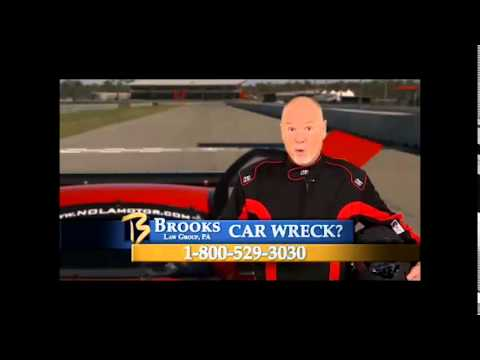 race-car-tv-commercial-brooks-law-group