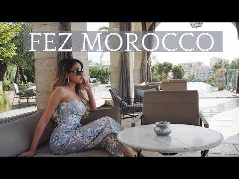 FEZ MOROCCO IS LIT | LEILA AMINI VLOG #4