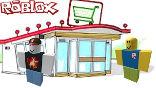 ON OPEN A MAGASIN (ROBLOX)