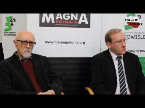Stanisław Srokowski i dr Leszek Sykulski - Ukraina - państwo upadłe? - panel dyskusyjny