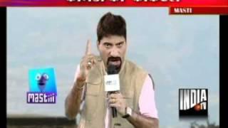 Raju Srivastav Commedy As News Reporter