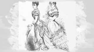 Victorian Era Costumes, Fashion, Style, Dresses Stock Images Photography Vintage Collection