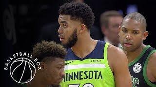 [NBA] Boston Celtics vs Minnesota Timberwolves, Full Game Highlights, December 1, 2018