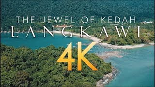 Langkawi, Malaysia - The Jewel of Kedah, 4K Drone Aerial footage