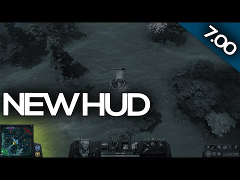 7 00 Patch Update Dota 2 New Hud Youtube
