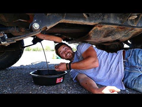 Vehicle Maintenance On The Road