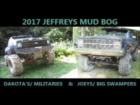 2017 JEFFREYS MUD BOG/ FATHER & SON'/  2 CHEVY V8 SHORT BEDS