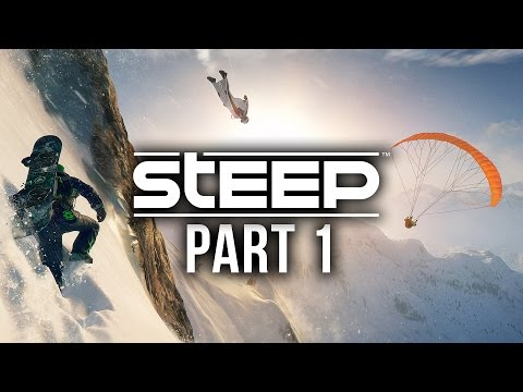 Steep Gameplay Walkthrough Part 1 - PLAY TIME IN THE SNOW (Full Game)