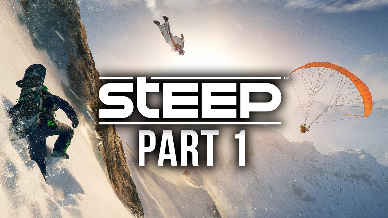 Steep Gameplay Walkthrough Part 1 – PLAY TIME IN THE SNOW (Full Game)