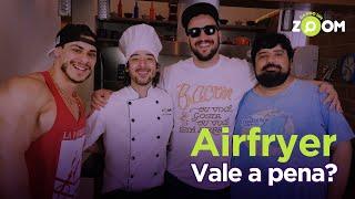 Airfryer Walita vs Airfryer Mondial ft. Totoro, Leo Stronda e Tucano | DANDO UM ZOOM #9