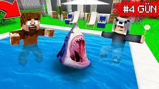 KÖPEK BALIKLI HAVUZDAN SON ÇIKAN KAZANIR! 😱 Minecraft
