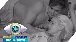 Dominik kuschelt oben ohne mit Sarah: Geht da was? | Highlights | Promi Big Brother 2017 | SAT.1