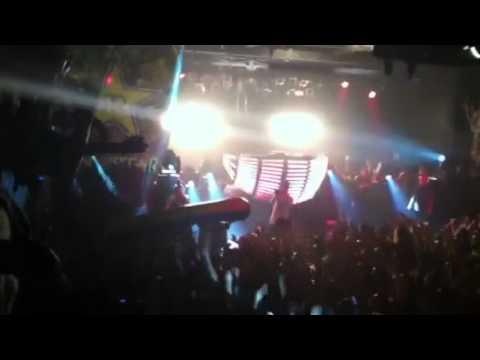 Steve Aoki jumps from window in Music Farm