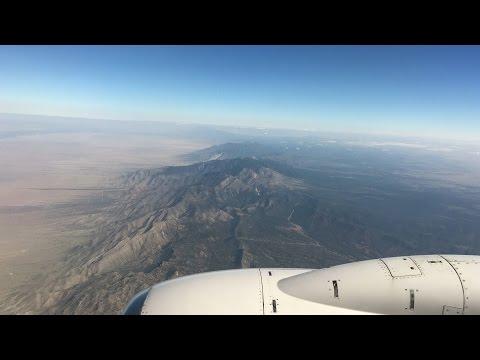 A320 United Houston to Chicago Via Albuquerque 09/10/2016. Amazing Views!