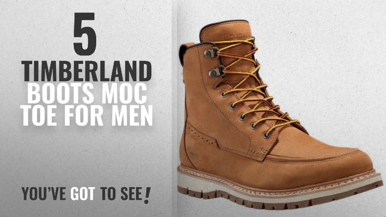 dec08d7208 Top 10 Timberland Boots Moc Toe [ Winter 2018 ]: Timberland Mens ...