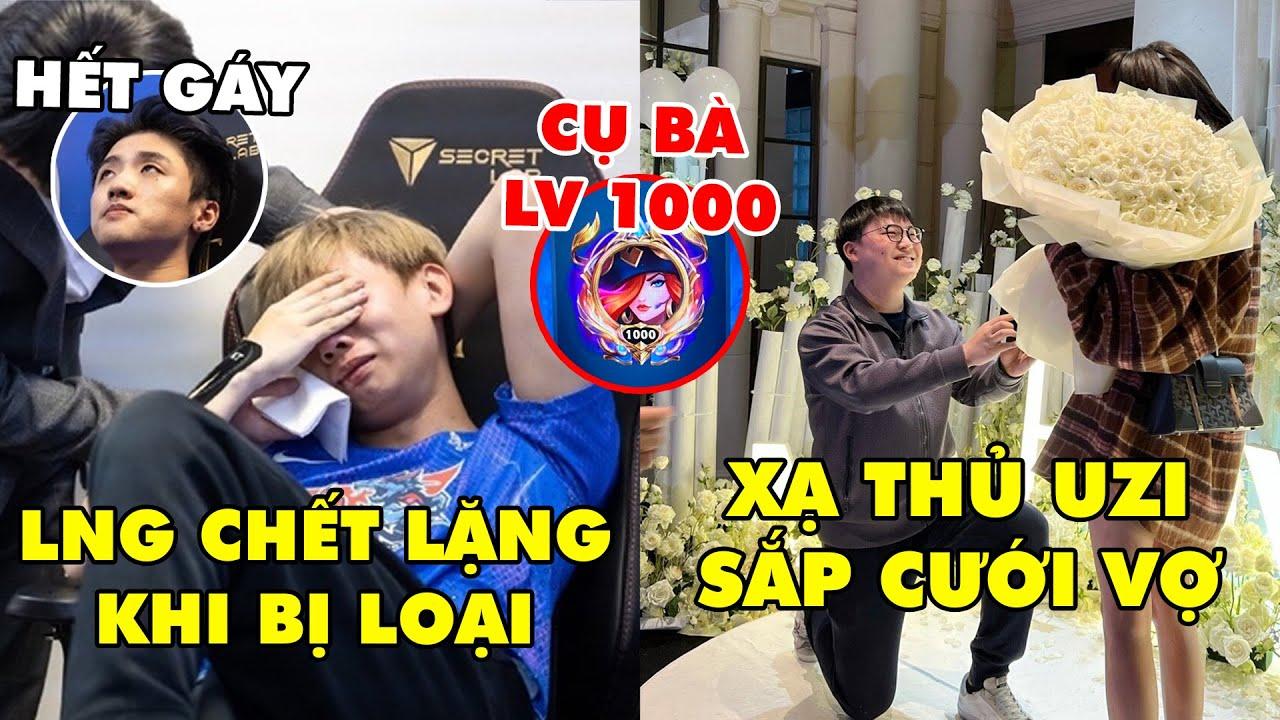 """TIN NÓNG 617: Uzi cầu hôn bạn gái thành công - LNG Icon hết cơ hội """"gáy"""", Cụ bà sở hữu nick lv 1000"""