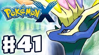 Pokemon X and Y - Gameplay Walkthrough Part 41 - Legendary Xerneas! (Nintendo 3DS)