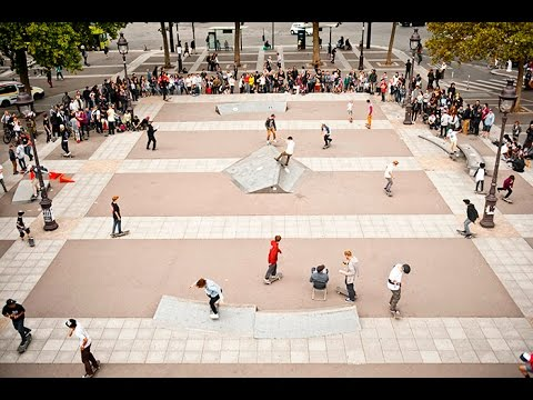 Stop #9 of Volcom's WITP Europe 2015 | Paris, France