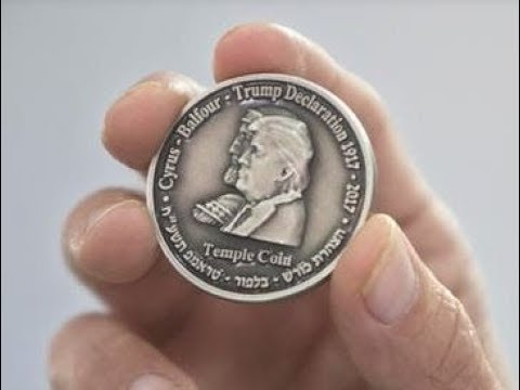 Sanhedrin Issues Temple Coin With Images Of Trump & King Cyrus