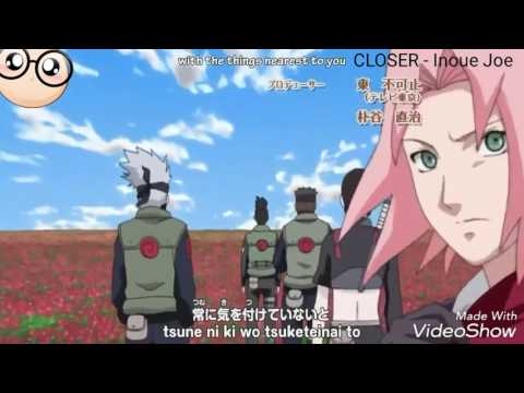 Naruto Shippuden Opening #4  CLOSER  Inoue Joe