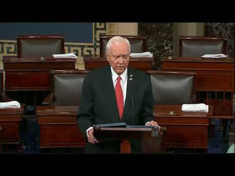 Hatch Leads Finance Committee Republicans in Making the Case for Tax Reform on the Senate Floor