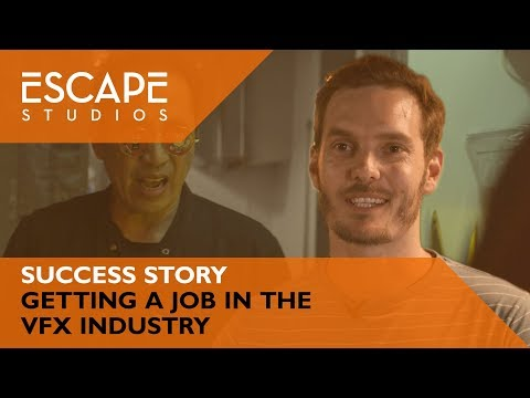 Dustin's Success Story: Getting a job in the VFX industry