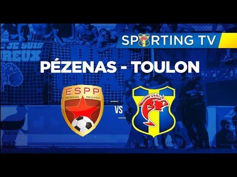 ES Paulhan Pézenas - SPORTING CLUB TOULON (0-2): 13ème journée de National 2 (09/12/2017)