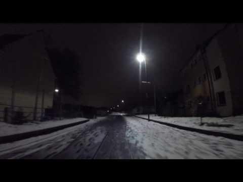 Im Schnee durch Wuppertal