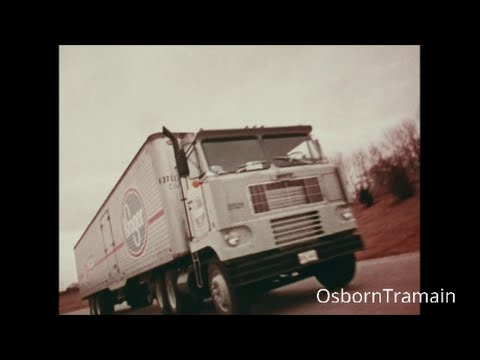 Kroger Food Store Commercial featuring 1970 White 7000 Cab Over Truck
