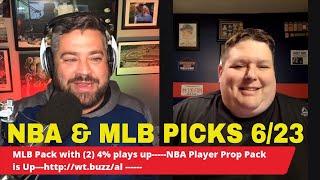 ⚾🏀 Free NBA & MLB Picks, Predictions and Preview   Bucks vs Hawks   Mariners vs Rockies   June 23
