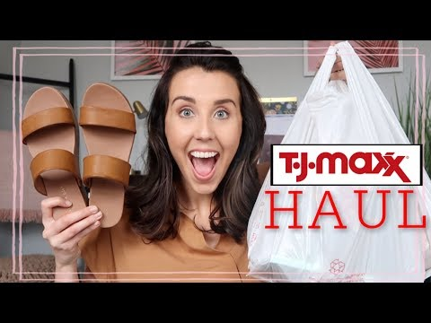 WHAT I BOUGHT FOR $100 ( TJ MAXX CLOTHING HAUL) + GIVEAWAY!