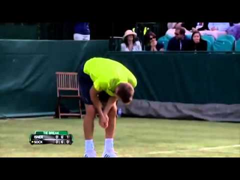 Jack Sock Hits Lineswoman in the Head