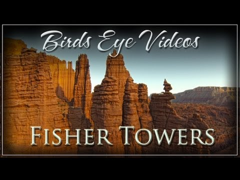 Fisher Towers of Castle Valley