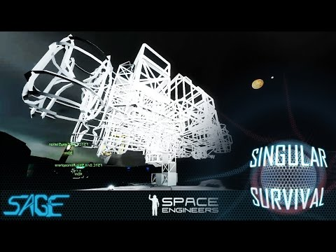Space Engineers, Singular Survival, Ep 8 (Ship Planning)